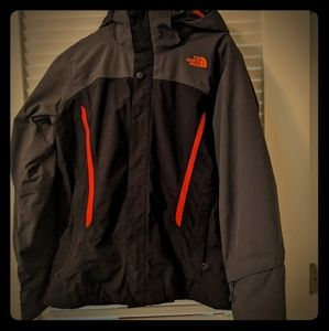 Medium size 2 in 1 Northface Jacket